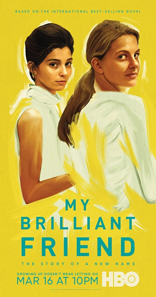 Poster for My Brilliant Friend on HBO
