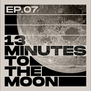 Podcast logo for 13 minutes to the Moon