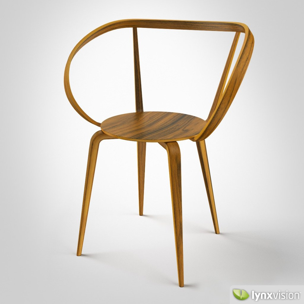 Pretzel Chair by George Nelson.