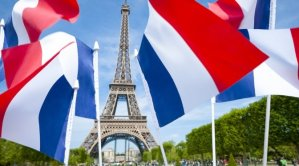 Celebration of French Independence on Bastille Day 14 July.
