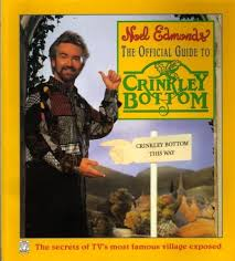 book cover from the Official guide to Crinkley Bottom.  Not recommended.