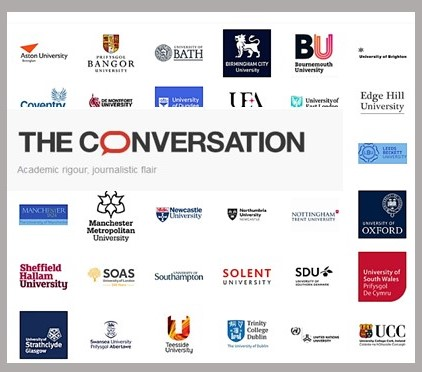 Logos from universities that provide funding and contributions to The Conversation.