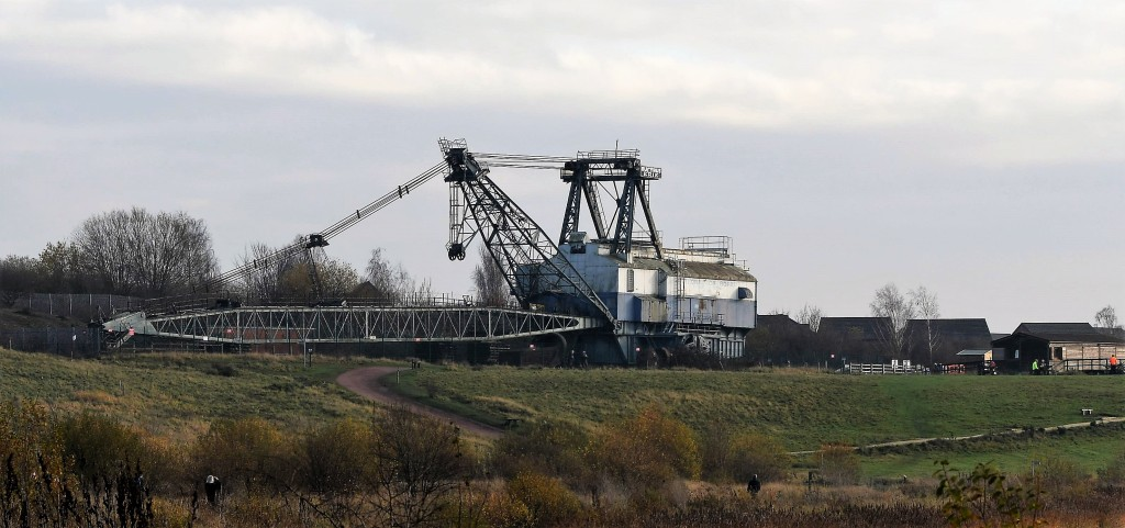 Oddball a very large dragline for open cast mining.